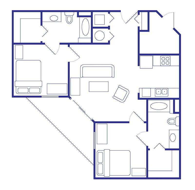 2 Bedroom Apartments In Gainesville